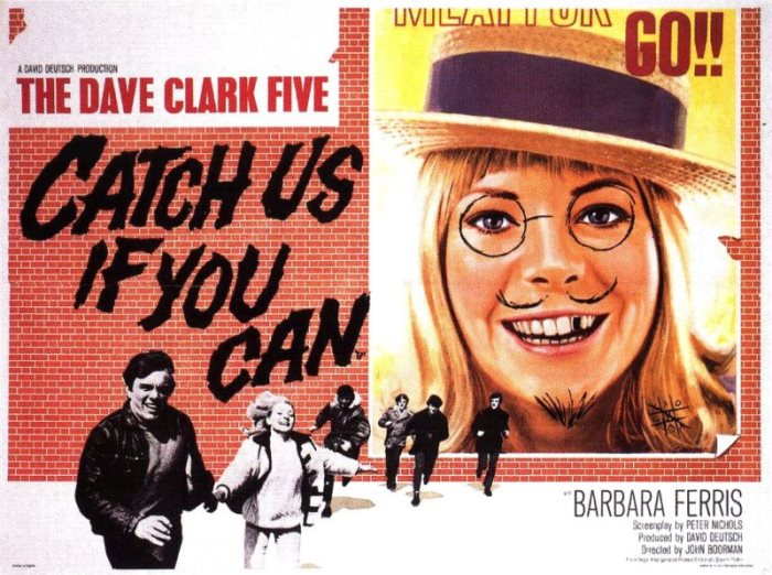 CLARK FIVE DAVE - CATCH US IF YOU CAN POSTER