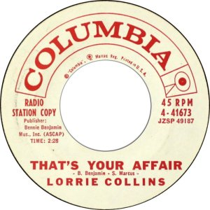 COLLINS LAURIE 60 B