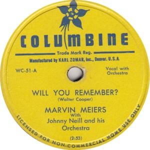 COLUMBINE 56 - MEIERS A