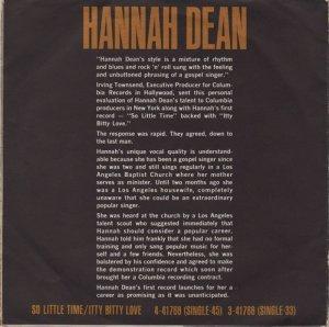 DEAN HANNAH B