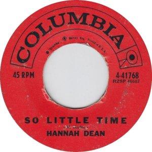 DEAN HANNAH C