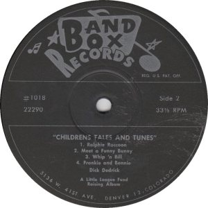 Deddrick - Band Box LP 1018 CF - Deddrick (3)