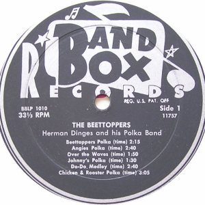 DINGES, HERMAN - BAND BOX 1010 - BEETOPPERS 1