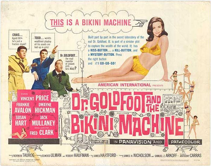 DR GOLDFOOT 1965