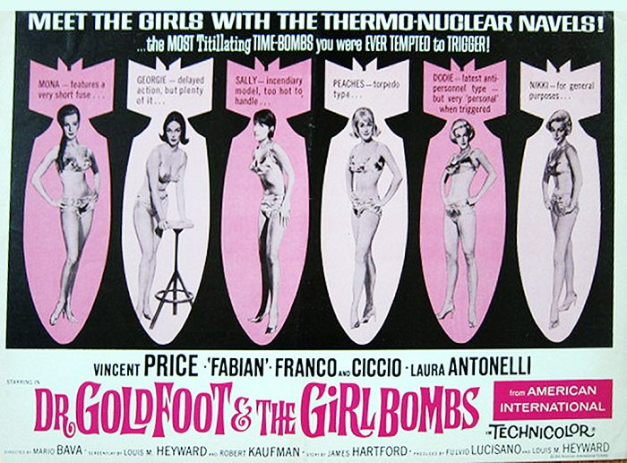 DR GOLDFOOT AND GIRL BOMBS 66