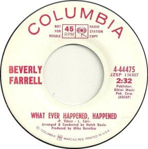 FARRELL BEVERLY 68 A