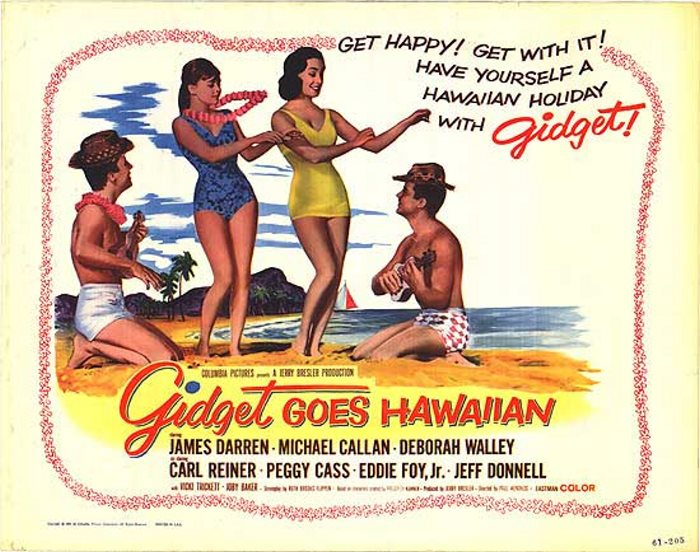 GIDGET GOES HAWAIIAN 1963