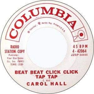 HALL CAROL 61 A
