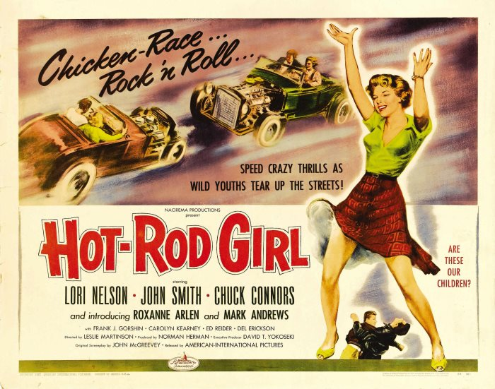 HOT ROD GIRL 1956 BUD SHANK