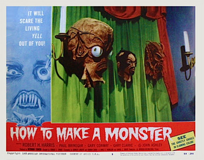 HOW TO MAKE A MONSTER 58 W JOHN ASHLEY