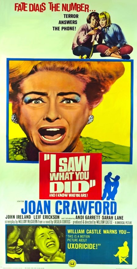 I SAW WHAT YOU DID 65 PATTY DUKE