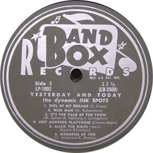 Ink Spots - Band Box LPL 1002 - Ink Spots SD 2 (2)