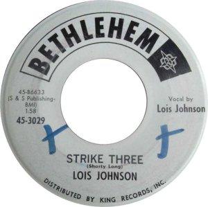 JOHNSON LOIS 62 A