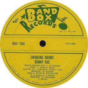 Kae - Band Box LPL 1006 - Kae, Ronny - SD 1 (1)