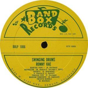 Kae - Band Box LPL 1006 - Kae, Ronny - SD 1 (2)