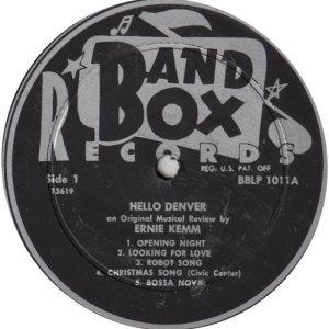 Kemm - Band Box 1011 - Kemm, Ernie - Hello Denver 2 (2)