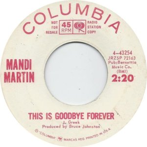 MARTIN MANDY 65 B