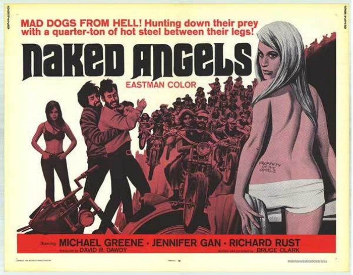NAKED ANGELS 1969 - SIMMONS FROM MOTHERS