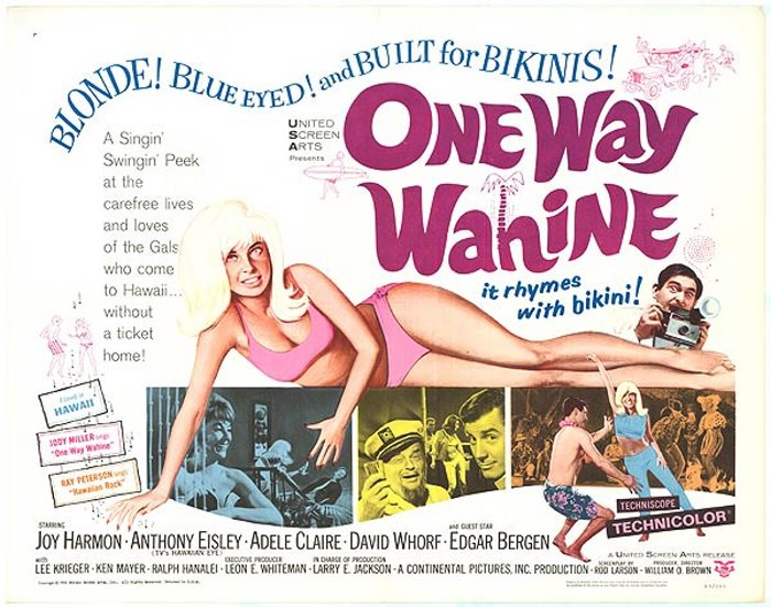 ONE WAY WAHINE 65 W RAY PETERSON