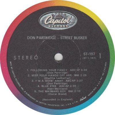 PARTRIDGE DON 01