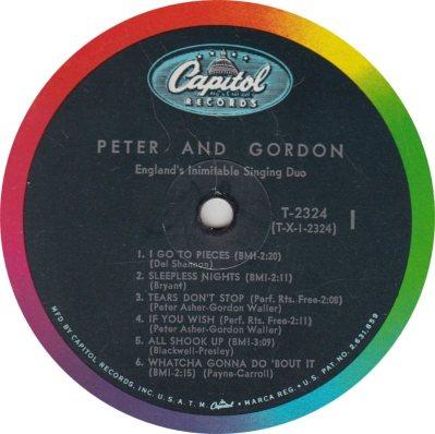 PETER GORDON 03 PIECES