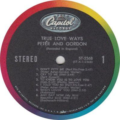 PETER GORDON 04 TRUE LOVE
