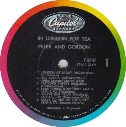 PETER GORDON 12 TEA