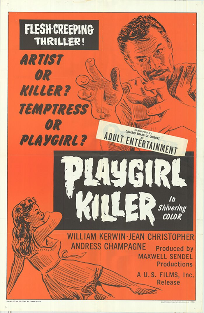 PLAYGIRL KILLER 66 the Tornadoes, Spotnicks, New Christy Minstrels, Bridget Bardot, Julie Driscoll, Brian Auger and the Trinity, Dion