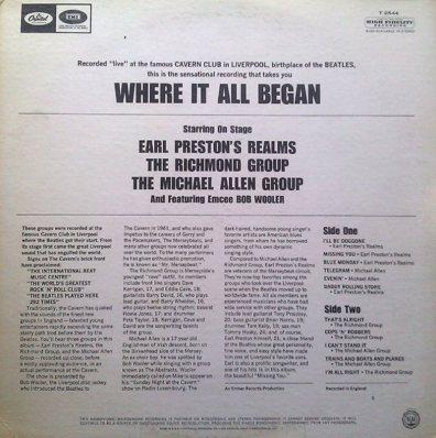 PRESTON EARL & REALMS - COV A