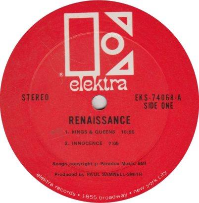 RENAISSANCE 01