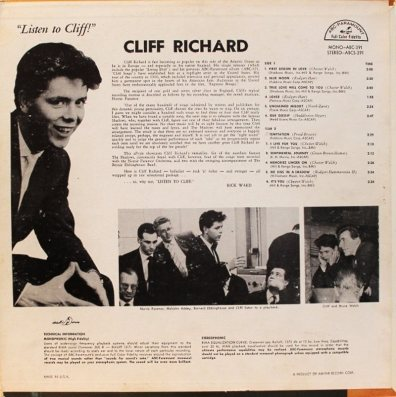 RICHARD CLIFF 02 LISTEN COV A