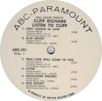 RICHARD CLIFF 02 LISTEN