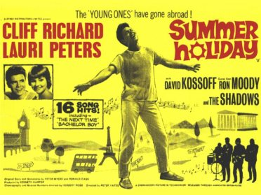 RICHARD CLIFF 03 SUMMER POSTER
