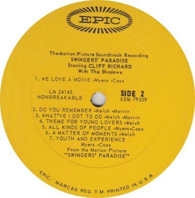 RICHARD CLIFF 05 SWINGERS (2)