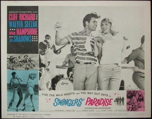 RICHARD CLIFF 05 SWINGERS POSTER