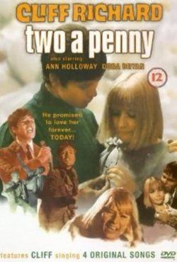 RICHARD CLIFF 68 TWO A PENNY POSTER