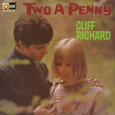RICHARD CLIFF 68 TWO A PENNY