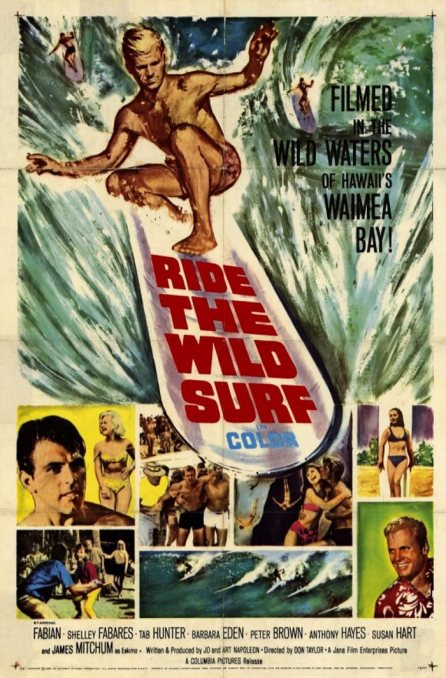 RIDE THE WILD SURF 1964