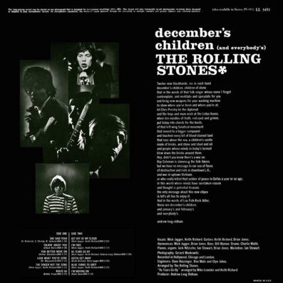 ROLLING STONES 05 - DECEMBERS A