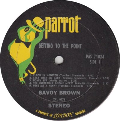 SAVOY BROWN 01