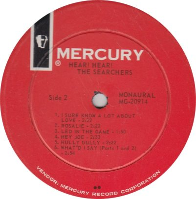 SEARCHERS - HEAR HEAR_0001
