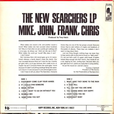 SEARCHERS - NEW SEARCHERS COV 2