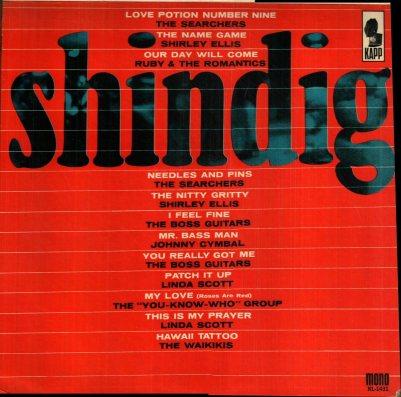 SEARCHERS - SHINDIG COV A
