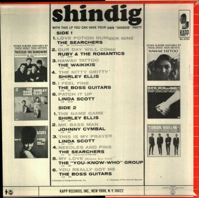 SEARCHERS - SHINDIG COV B