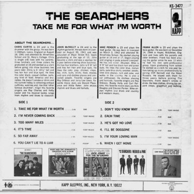 SEARCHERS - TAKE ME COV 2