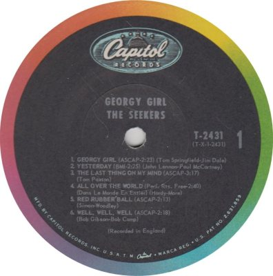 SEEKERS - GEORGY GIRL R
