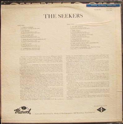 SEEKERS - MARVEL B