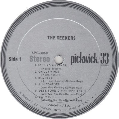 SEEKERS - PICKWICK R