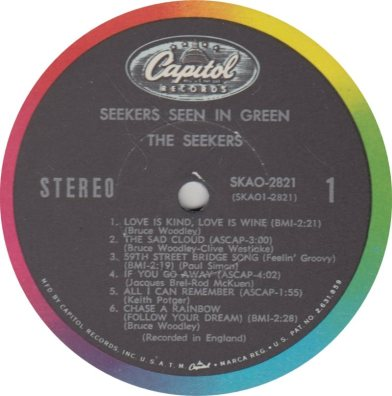 SEEKERS - SEEN GREEN