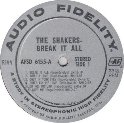SHAKERS 01 R
